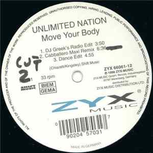 Unlimited Nation - Move Your Body Album